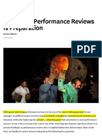 Hbr 1The Key to Performance Reviews is Preparation