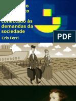 Apresentação do Gestor e professor de inovação do setor público e fundador do Laboratório Hacker da Câmara dos Deputados, Cristiano Ferri.
