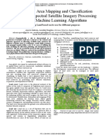 Land cover classification in ML