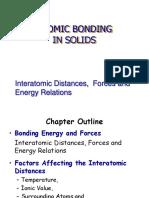 CH 3 CIVL 283 Atomic Bonding in Solids-std