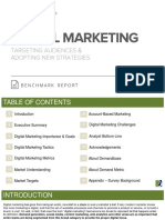 Digital Marketing Benchmark Report
