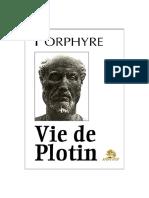 Porphyros 「Vie de Plotin」