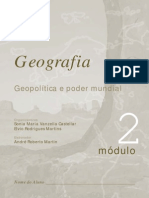 Geografia- geopolitica e poder mundial - Módulo 02