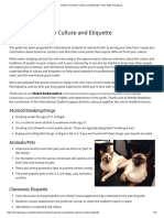Guide to American Culture and Etiquette _ Penn State Harrisburg