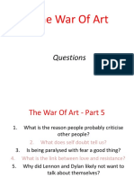 the war on art - part 5
