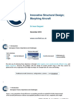 Structural Design-Morphing Aircraft