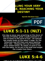 Fulfilling Your Very Purpose Reaching Your Destiny Jcbc Apostle Abraham (1)
