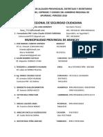 Relacion Nominal de Alcaldes Provinciales 2018