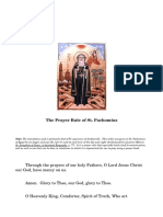 The Prayer Rule of St. Pachomius.pdf