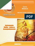 657 Apostila Instrumento Violão Leitura e Acompanhamento-1