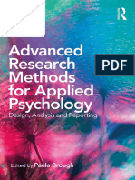 Paula Brough - Advanced Research Methods for Applied Psychology_ Design, Analysis and Reporting (2018, Routledge)