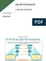 Capa Transporte