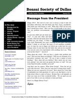 BSD 2014 Jan Newsletter