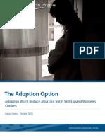 The Adoption Option