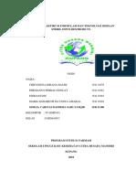 Laporan Praktikum Formulasi Dan Teknologi Sediaan Steril Infus Dextrose 5