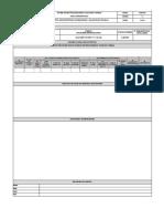 Formato de Registro para las Estadisticas de un SGSST