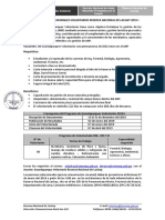 Convocatoria GPV 2019 - I