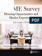 2018 Q4 HOME Survey