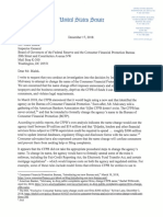 Warren letter to CFPB IG requesting name-change investigation