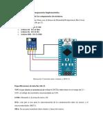 Informe 1 Comunicacion de Los Componentes Implementados