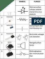 Komponen Elektronik Rbt t5