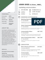 Template CV Dan Surat Lamaran Pekerjaan - Copy
