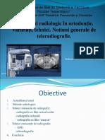 Examenul Radiologic in Ortodontie