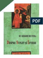 Grigore de Nyssa, Sf. - Despre Suflet Si Inviere v.1.0