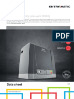 Ditec Neos Data Sheet En
