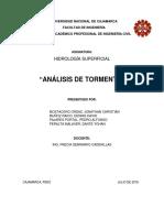 ANÁLISIS DE TORMENTA