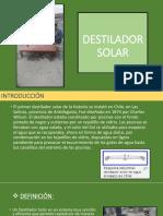 Destilador Solar 1