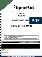 COMPRESOR P185 INGERSOLL RAND