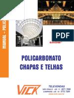 Manual Policarbonato