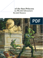 Ziggurat of the Sun Princess