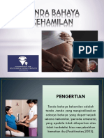 Tanda Bahaya Kehamilan