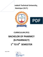 B.pharmacy Syllabus PCI