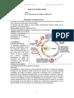 Tema 4 La División Celular1