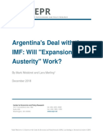 Argentina's Deal With the IMF