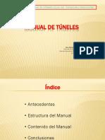 278275676 1 MANUAL de TUNELES Juan Apaclla Caja I Congreso Internacional de Infraestructura Vial Transporte y Maquinarias