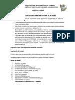 Pautas y Sugerencias Para Elaboracion de Informes