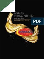 Hascol Annual Report 2016