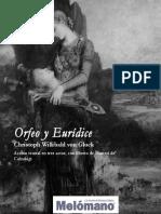 C. W. Von Gluck - Orfeo y Eurídice