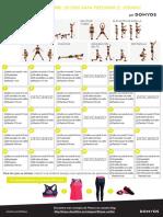 Plan Ejercicios 30 Dias Decathlon