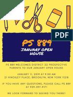 January Open House