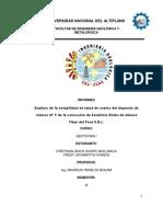 Informe de Estabilidad de Taludes en Suelos - Geotecnia