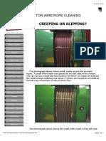 Creepage vs Slippage