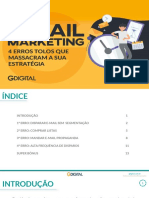 4 Erros no E-mail Marketing