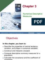 Chapter 3 Numerical Descriptive Measures