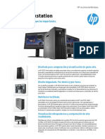 Datasheet HP Z820 Workstation