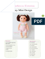 Muñeca Ema Amigurumi